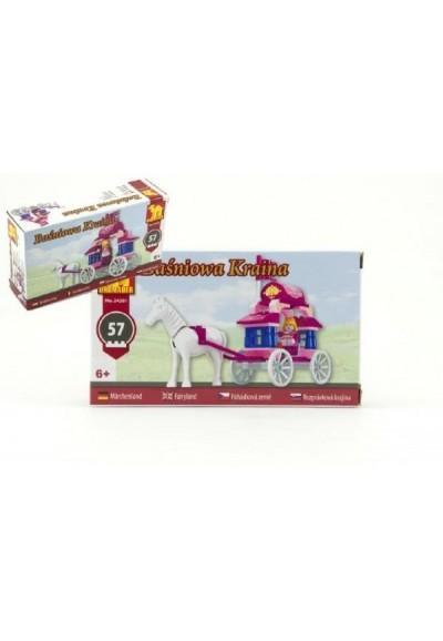 Stavebnice Dromader pro Holky 24201 57ks v krabici 16,5x9,5x4,5cm