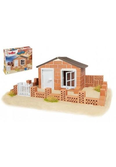 Stavebnice Teifoc Domek Andres 130ks v krabici 35x29x8cm