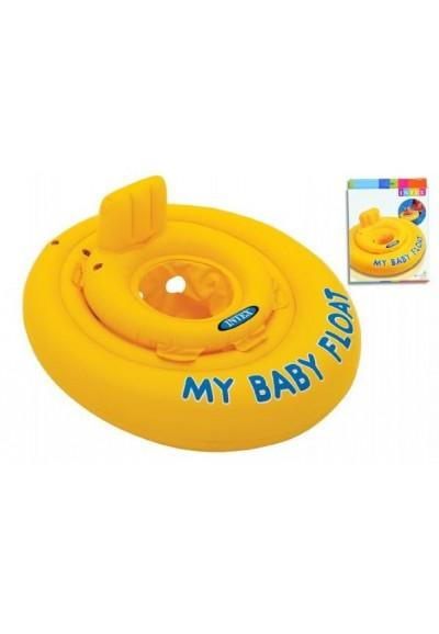 Baby kruh nafukovací +- 70cm v krabici 6-12m