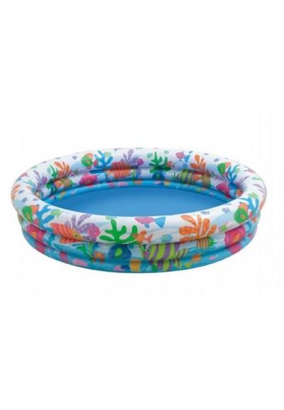 Bazén nafukovací 3 komory 132x28cm v sáčku