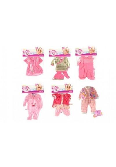 Oblečky/Šaty pro panenky velikosti 30-45cm asst v sáčku 25x40cm