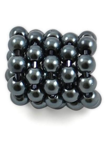 Spona na šátek 100sp72 - hematitová