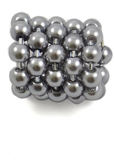 Spona na šátek 100sp71 - šedá