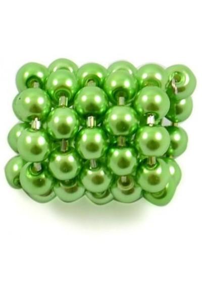 Spona na šátek 100sp51 - světle zelená