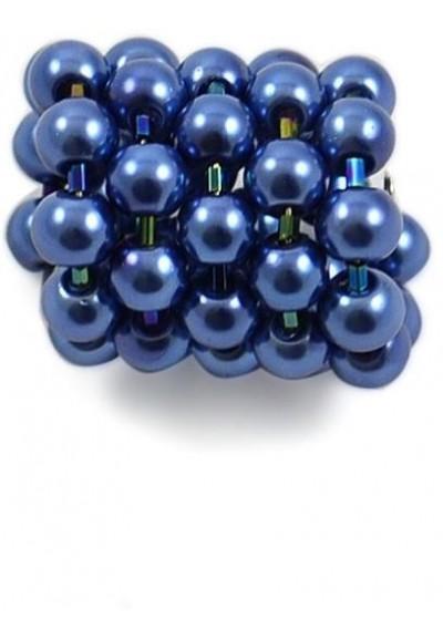 Spona na šátek 100sp30 - modrá