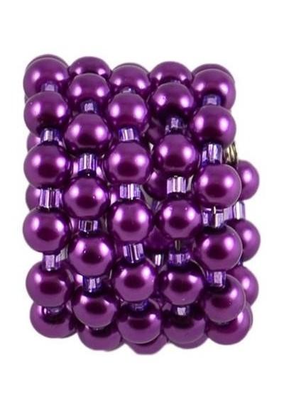Velká spona na šálu 149sp33 - fialová