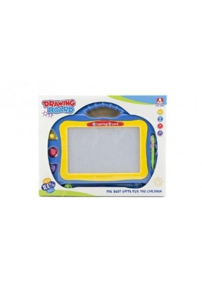 Magnetická tabulka kreslící plast asst 2 barvy v krabici 31x24x2cm