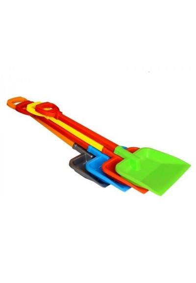 Lopatka na písek plast 4 barvy 28x4x67cm 12m+